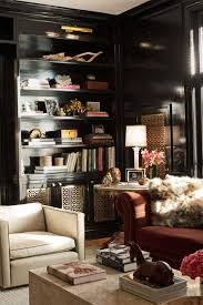 Bookcases With Lights Black Bookcase Design Ideas