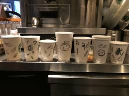 thanksgiving cups made some thanksgiving cups starbucks