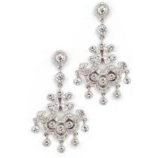Cubic Zirconia Chandelier Earrings Cubic Zirconia Chandelier Earrings