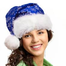 blue santa hat put blue santa hat on photo online using santa hat editor