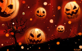 pumpkin screensaver wallpaper halloween free