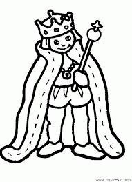 Dessin Roi Reine  AZ Coloriage