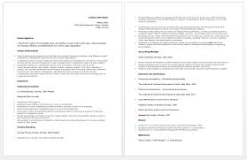 accountant resume chartered accountant resume collection 10 bilal