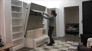 lit escamotable canap pas cher inside75 com demonstration armoire lit escamotable cus avec
