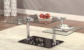 Modern Glass Coffee Tables Glass Coffee Tables And End Tables Top Coffee Table Slope