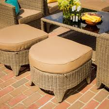 Patio Furniture Pensacola by St Martin 9 Piece Resin Wicker Patio Seating Set By Lakeview