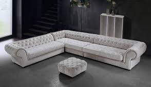 leather and microfiber sectional sofa cream dream microfiber sectional sofa and ottoman fabric sectional