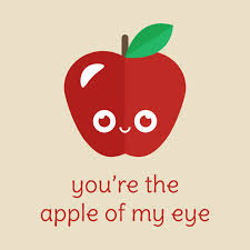 you re the apple of my eye apple t shirt teepublic