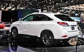 white lexus rx 350 2014 lexus rx 350 white top auto magazine