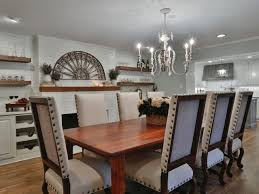 salvaged wood dining table dining room artistic designs for living