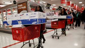 black friday specials target store bargain hunters flood stores for u0027black friday u0027 shopping tradition