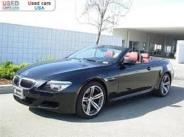 bmw convertible cars for sale for sale 2008 passenger car bmw 6 series convertible fremont