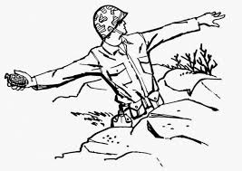 canadian soldiers coloring pages