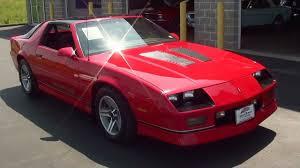 chevy iroc camaro test drive 1987 chevrolet camaro iroc z 57xxx original