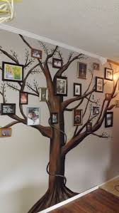 58 best tree murals images on pinterest tree murals mural ideas a beautiful family tree mural for your home add framed photographs of family members great craft idea for those doing genealogy and family history