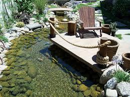 Backyard Bridge Concrete Garden Bridges Pond Trade Magazine