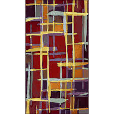 shaw accent rugs shop shaw living rectangular red accent rug common 2 ft x 4 ft