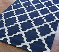 white and blue area rug rugs decoration