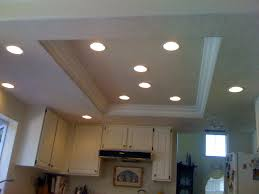 recessed lighting for kitchen ceiling home design new unique on