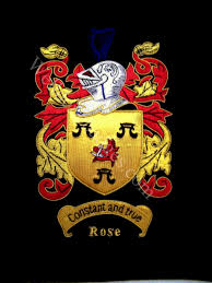 embroidered family crests coat of arms custom order accepted