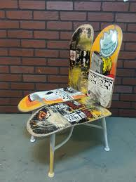 skateboard chair gantidesign co uk outstanding diy skateboard chair images decoration inspiration