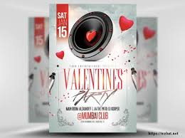 valentines flyer template s day psd flyer templates web net