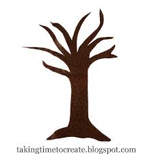 brown tree taking time to create thanksgiving countdown tree tutorial
