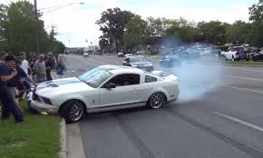 top five ford mustang crashes caught on video