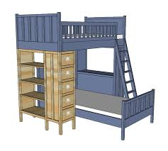 Ana White Build A Camp Loft Bed With Stair Junior Height Free by I Want To Make This Diy Furniture Plan From Ana White Com The Top