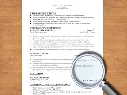 What Is A Professional Summary In A Resume How To Write A Resume For A Real Estate Job 13 Steps