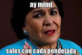 Mimi Meme - ay mimi sales con cada pendejada meme de carmelita salinas