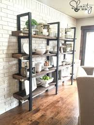 Free Wood Wall Shelf Plans by 25 Best Dining Room Shelves Ideas On Pinterest Dining Room