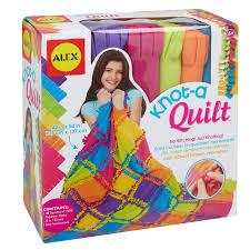 alex toys craft knot a quilt kit walmart com
