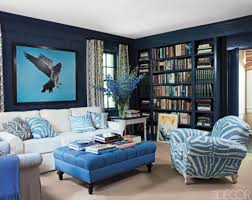Awesome Green  Cobalt Blue And Yellow Living Room Ideas Helkkcom - Living room design blue