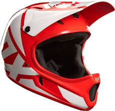 fox motocross jerseys fox rampage race downhill helmet helmets bicycle red white fox