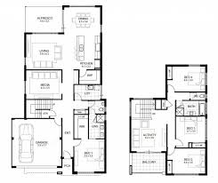 traditional 2 story house plans uncategorized 2 story traditional house plan within