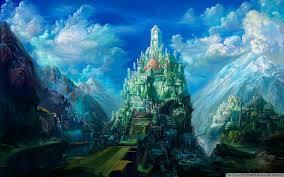 fantasy art scenery by chen wei 4k hd desktop wallpaper for 4k
