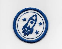 space badge etsy