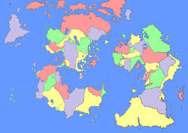 A World Map by Reality Check Tips For Improving A Fictional Map U0027s Coastlines