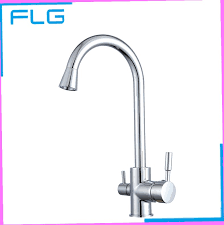 no water in kitchen faucet polished chrome brass 3 way 360 swivel kitchen sink faucet mixer
