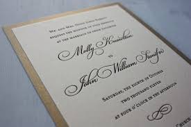 wedding invitations simple brown simple swirl with metallic gold backing wedding invitations