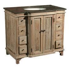 Pine Bathroom Furniture Reclaimed Pine Bathroom Vanity Wayfair