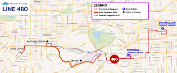 Bus Map Los Angeles by Fare And Service Changes Coming Soon