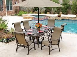 magnificent sling patio dining set aluminum sling patio furniture