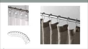 the ez glide shower curtain hooks that slide easily over the rod