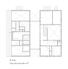 Two Family Floor Plans by Ingeniously Planned Two Family Residence In Yamagata Prefecture