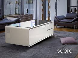 coffee table with cooler why a tech connected coffee table raised more than 1 million on