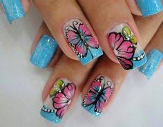 love these so much the butterfly is gorgeous cute nails