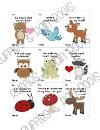 woodland animals free s day cards for