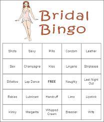 wedding words for bingo bridal bingo s wedding bridal bingo
